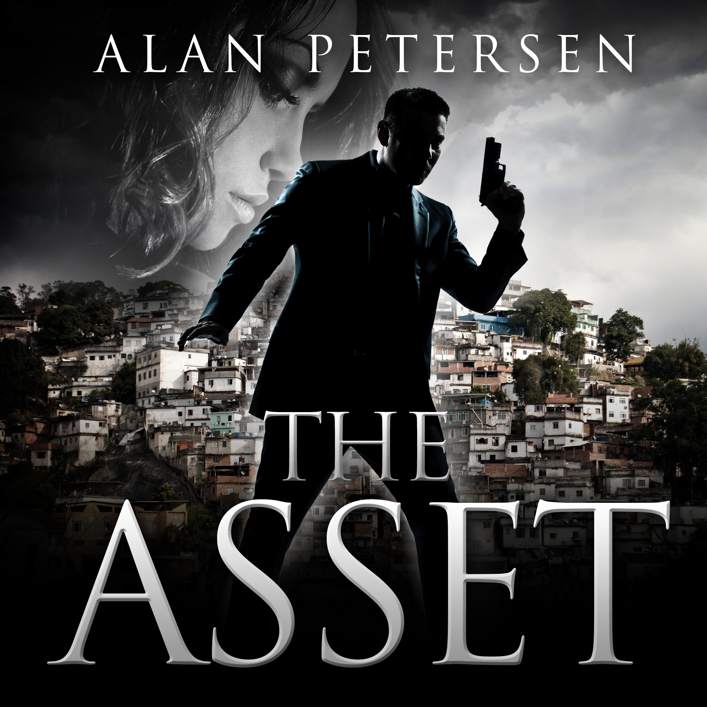 ACX Audiobook Cover for The Asset