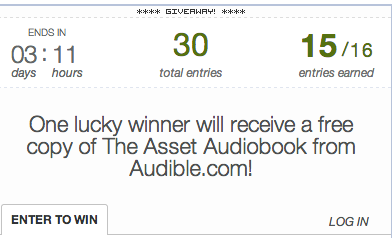 The Asset Audiobook from Audible Giveaway