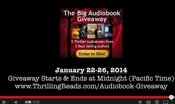 Big Audiobook Giveaway Video