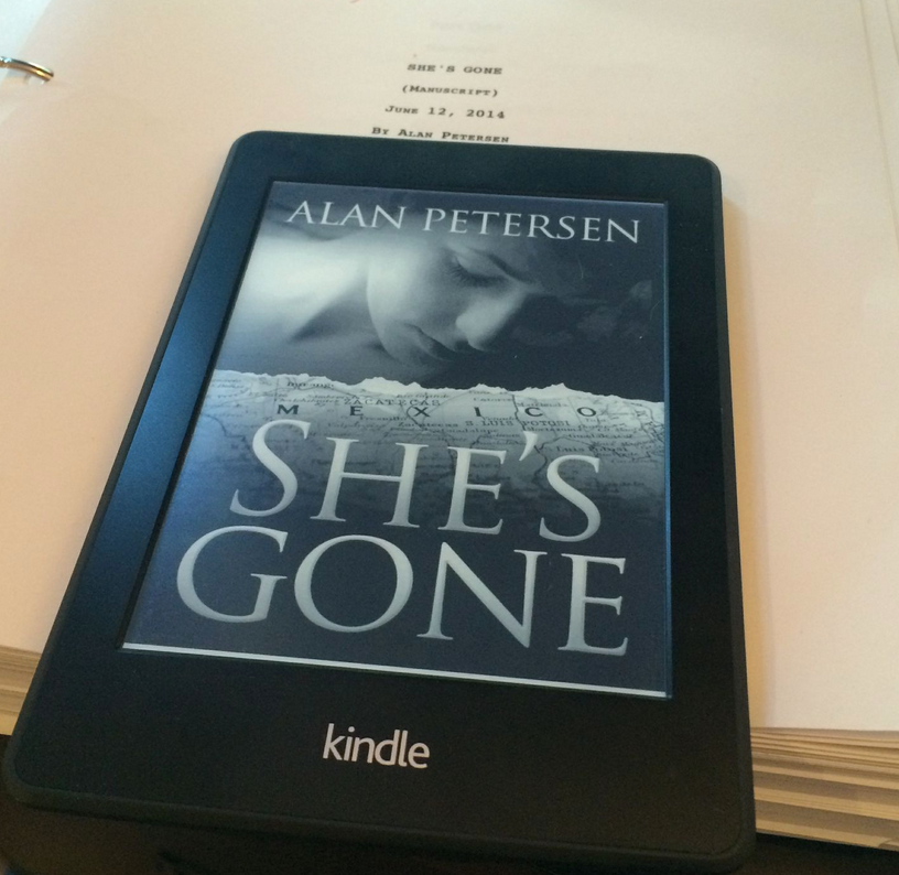 She's Gone a thriller by Alan Petersen